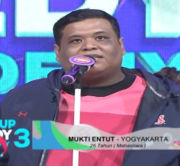 mukti entut 10 Besar SUCA 3 Indosiar Tadi Malam 10 Oktober 2017