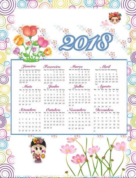 Genial Agenda escolar 2018/2019 para imprimir