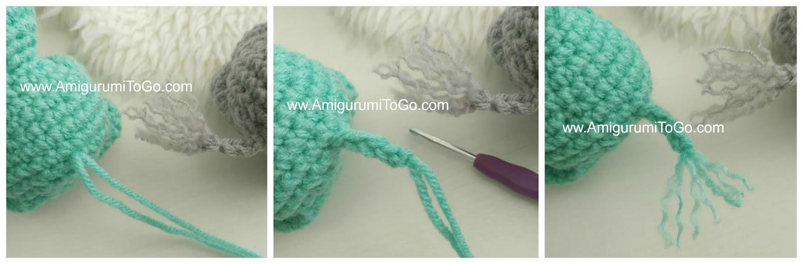 11 Free Crochet Elephant Patterns | 526x1600