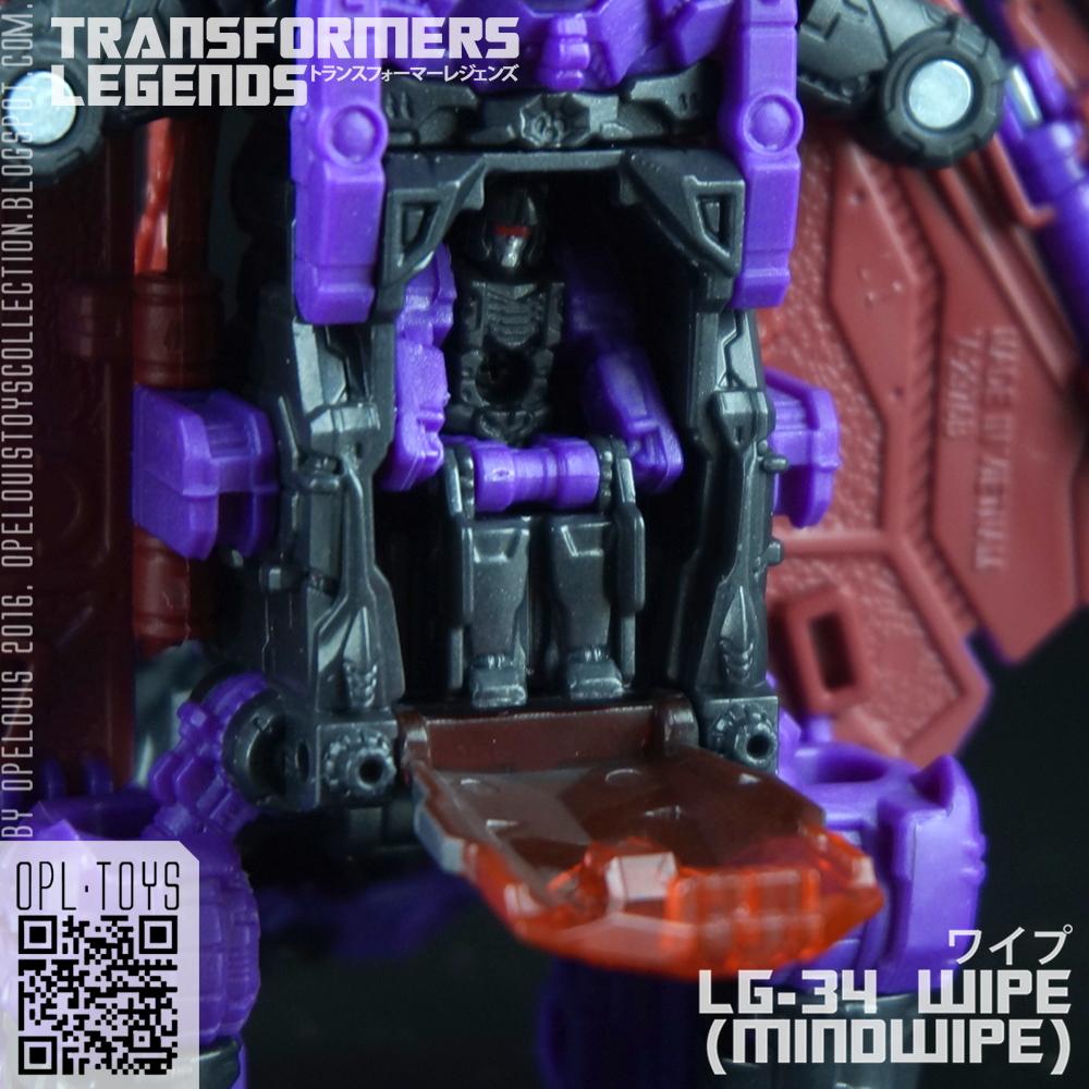 Takara Tomy Transformers Legends Head Master LG34 MINDWIPE Wipe action figure