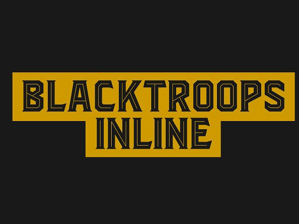 Download Blacktroops Inline Font Free