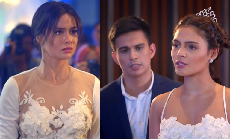 Erich Gonzales as Nicole, Tom Rodriguez as Edward and Lovi Poe as Maxene in 'The Significant Other'