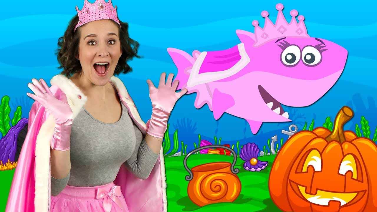 Halloween Baby Shark | Kids Songs and Nursery Rhymes | Halloween Songs from Bounce Patrol 771,825,4