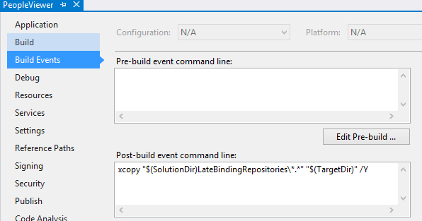 Jeremy Bytes: Using Build Events in Visual Studio to Make Life Easier
