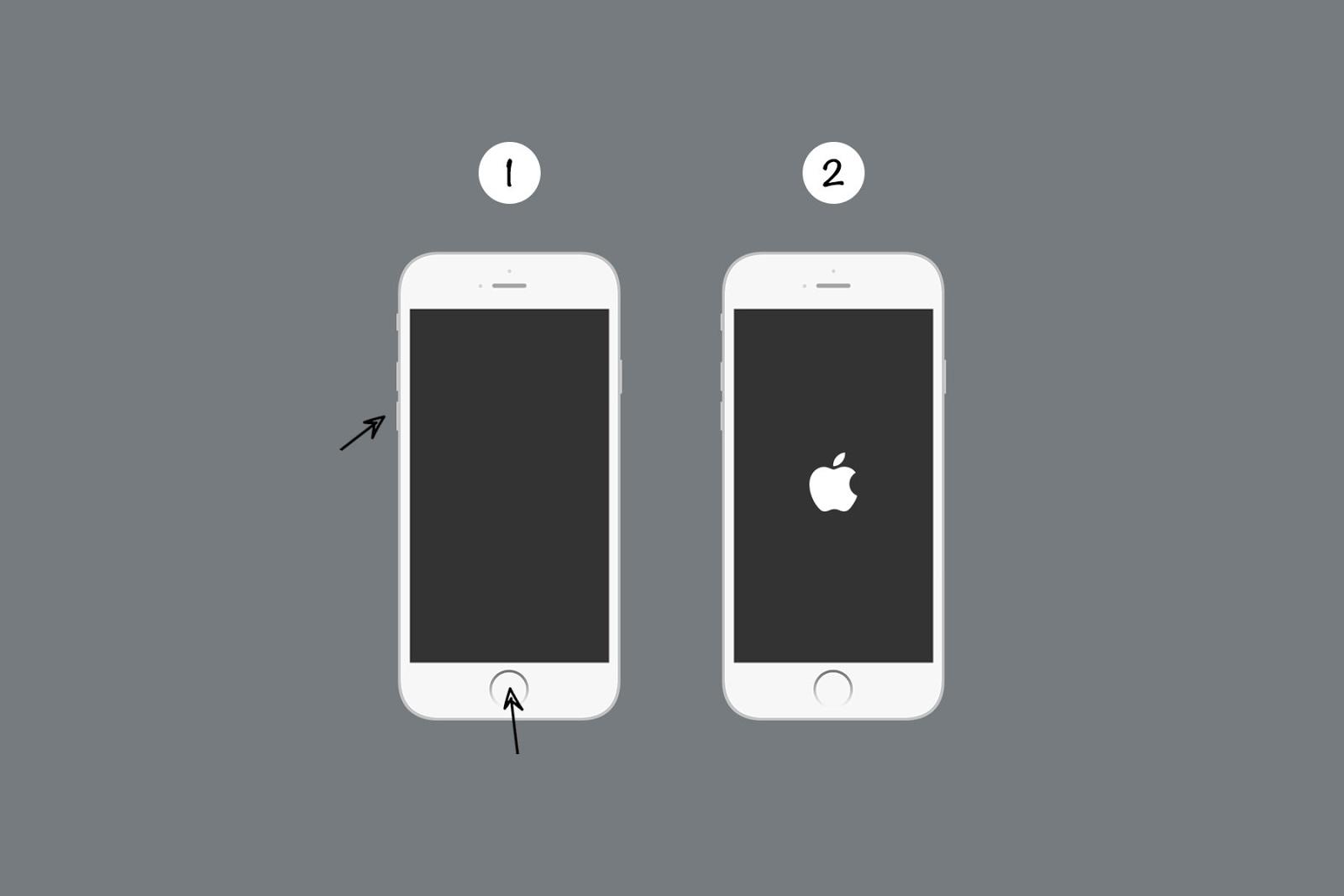 matikan paksa iPhone