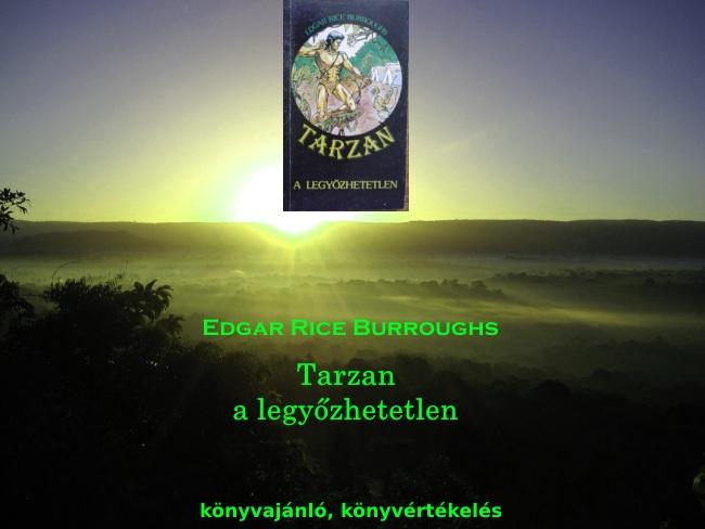 Tarzan a legyőzhetetlen könyvajánló, könyvértékelés