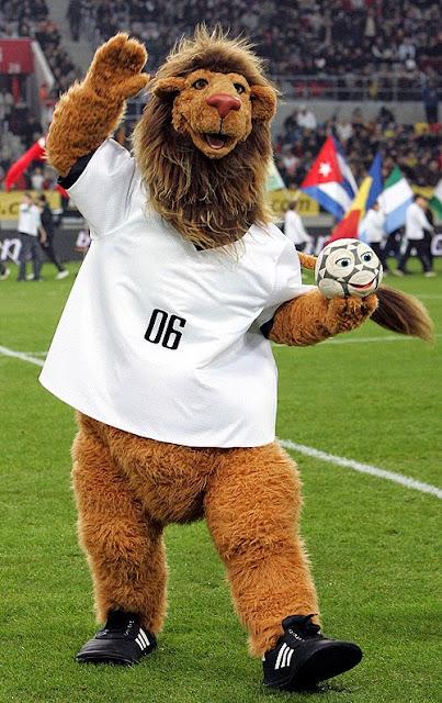 Goleo Mascota del Mundial de Futbol año 2006 Alemania