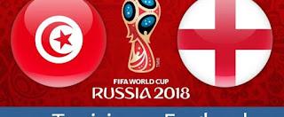مباراة تونس وانجلترا اليوم ضمن مباريات كاس العالم روسيا 2018