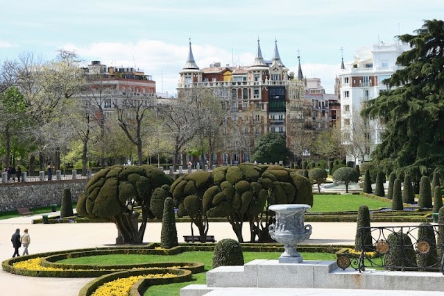 Bairro Retiro em Madri