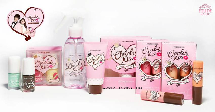Etude House Chocolate Kiss collection