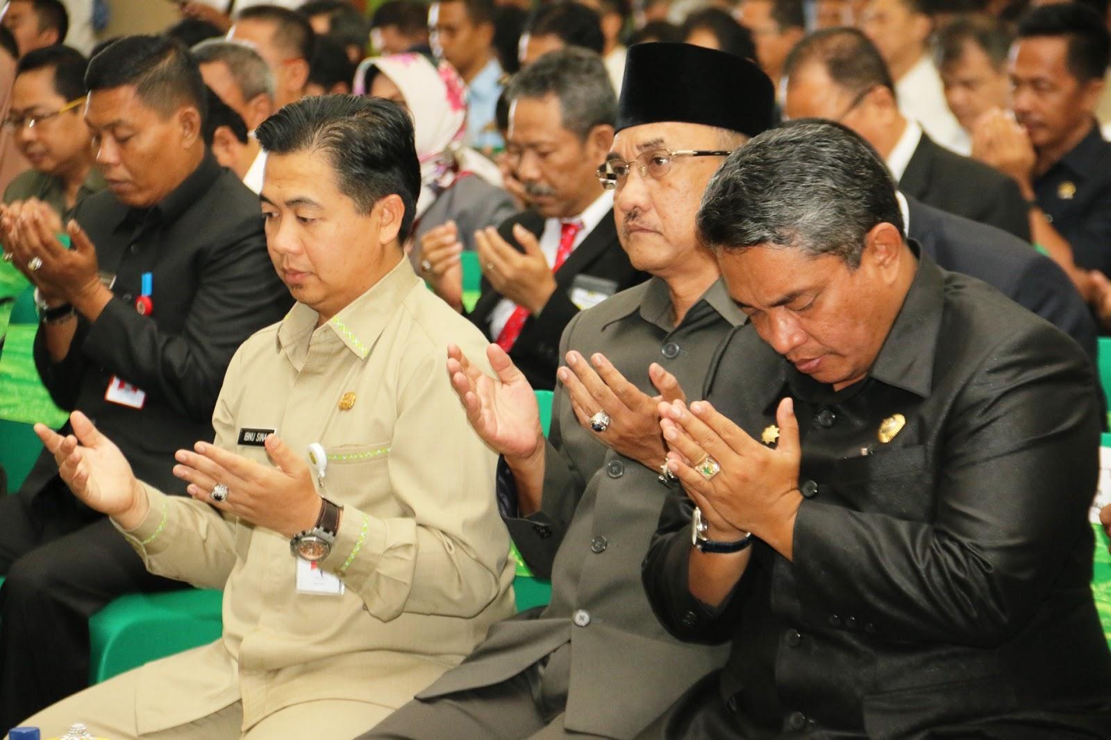 walikota banjarmasin ibnu sina yang hadir bersama kepala bpkad ahmad syaffri azmi dan dispenda subhan nor yaumil mengatakan bahwa dengan