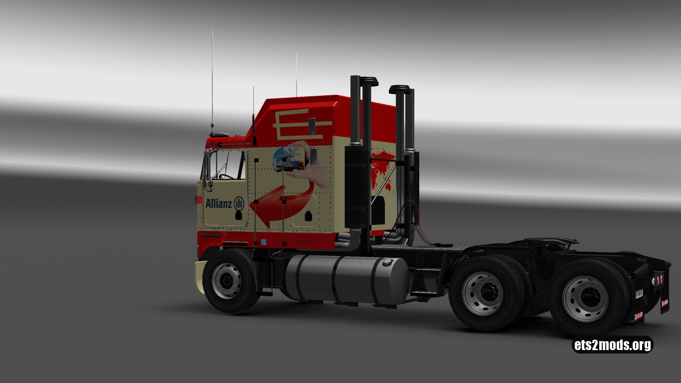 Allianz Skin for Kenworth K100