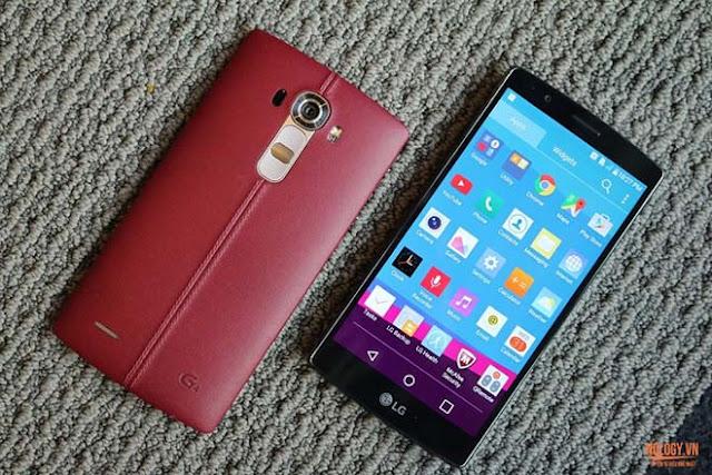 Lỗi thường gặp trên LG G4 cũ