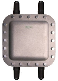 wireless access point enclosure for hazardous location