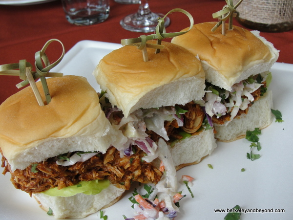 sliders at San Pedro Square Market in San Jose, California