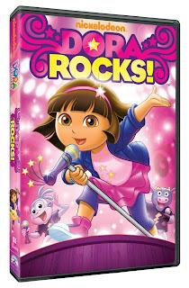 DVD Review: Dora Rocks! (Dora the Explorer)
