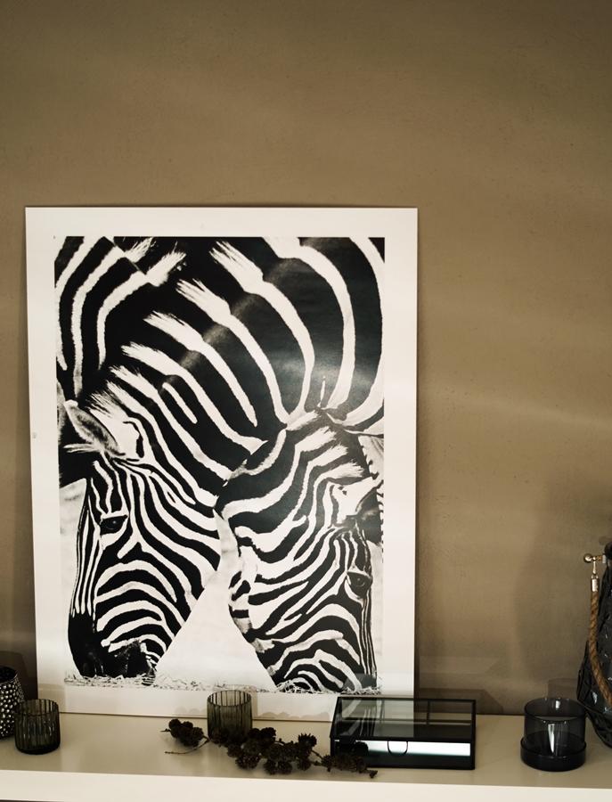 Blog + Fotografie by it's me! - Kooperation Posters - Print Zebra, Glasdose H & M, Glasbox TK maxx