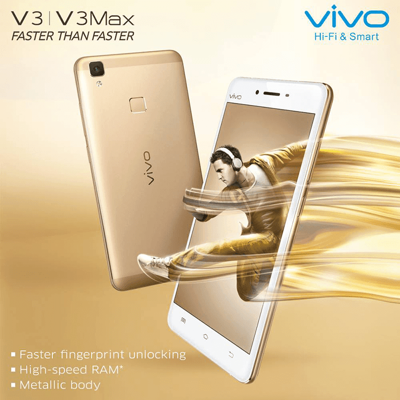 Vivo V3 And V3 Max launched