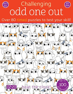 Odd One Out: Over 80 Timed Puzzles to Test Your Skill!