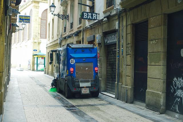 サン・セバスティアンの旧市街