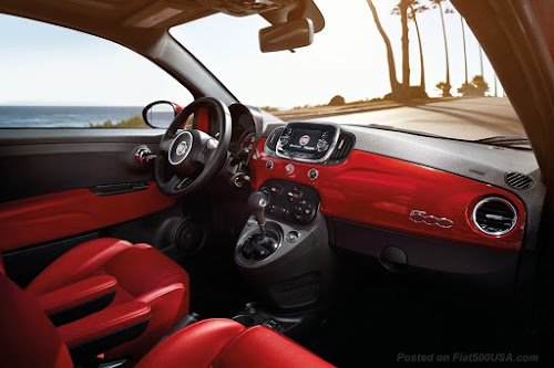 Fiat 500 Turbo Interior