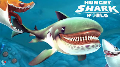 Download Game Android Gratis Hungry Shark World apk + obb