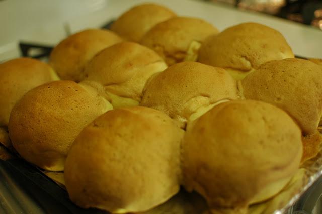Baking Roti Boy