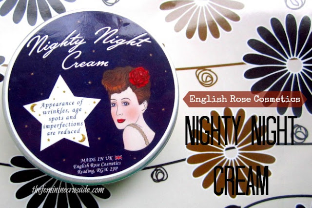 English Rose Cosmetics Nighty Night Cream