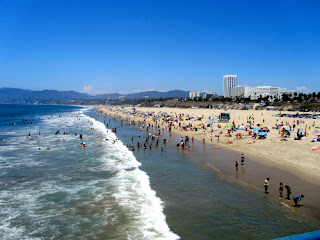 Beach Santa Monica California
