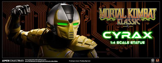 Mortal kombat cyrax and sektor wallpaper