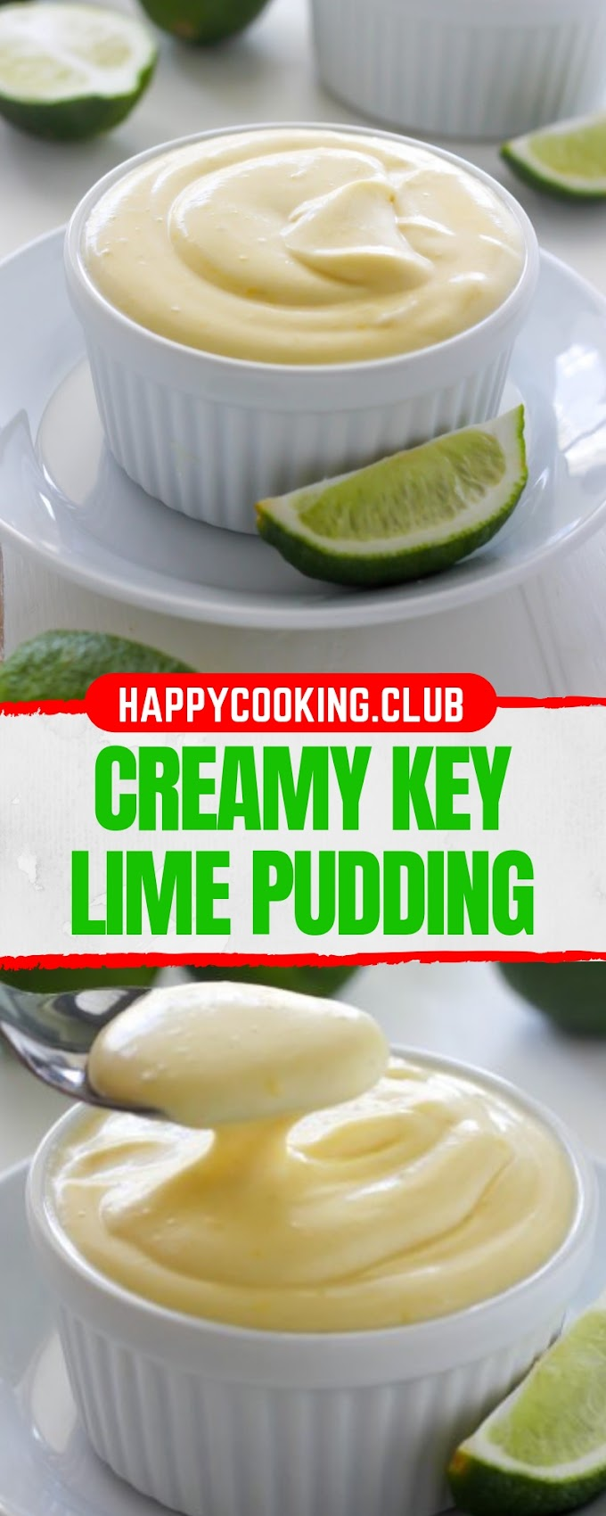 CREAMY KEY LIME PUDDING