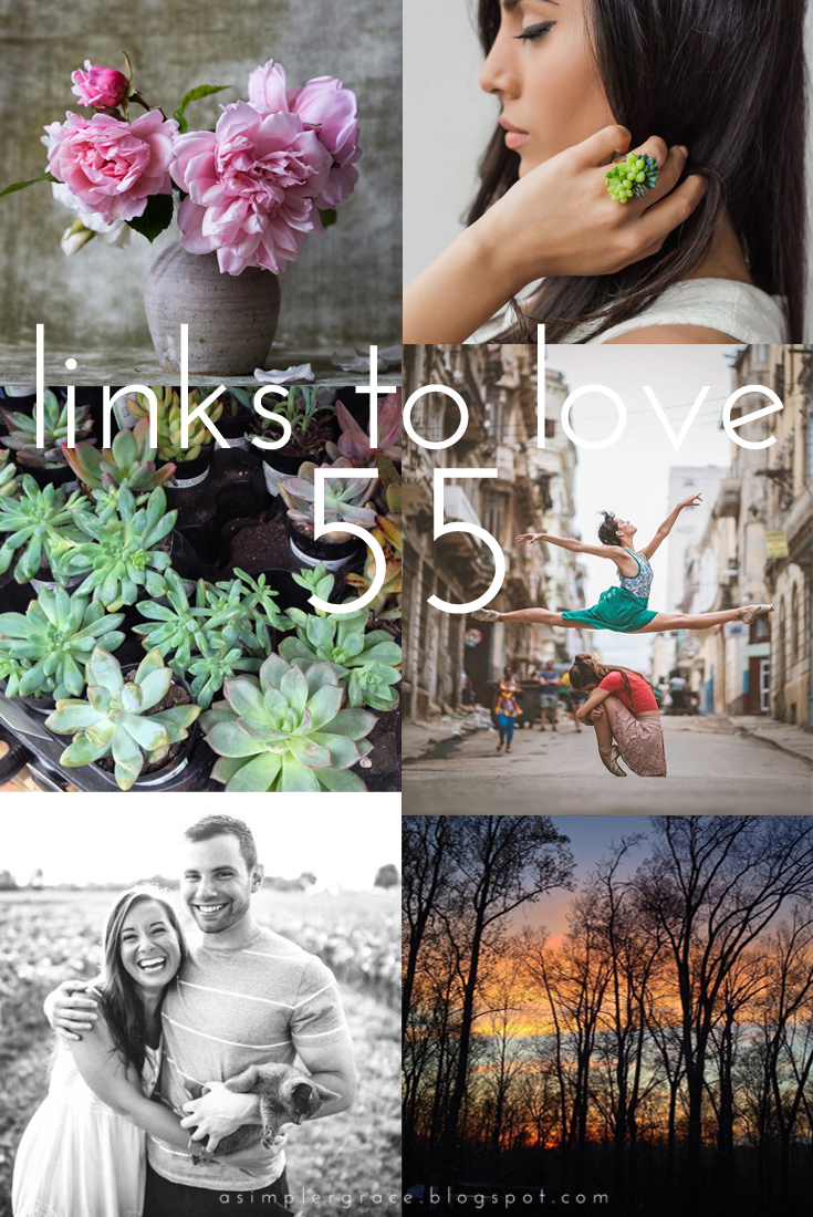 Links to Love | 55 - A Simpler Grace - My favorite reads from the week.