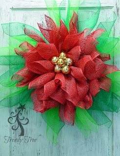 flor-navideña-con-mallas