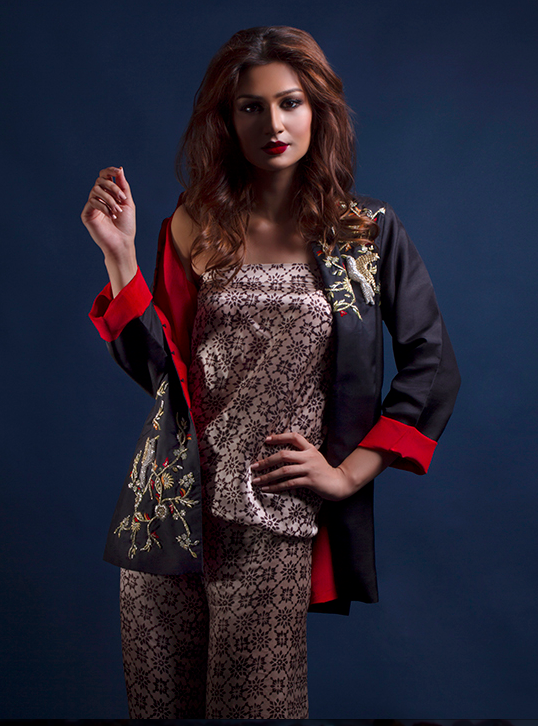 Maheen Karim - Eid fashion 2014