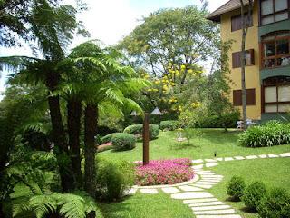 Jardim florido - Apartamento Temporada Gramado