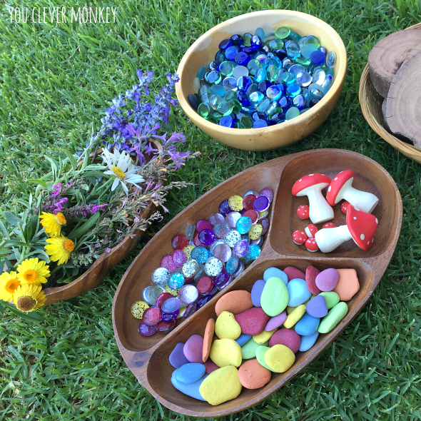 Creating Such Invitations To Play Can Be Simple Set Up And Are Great For Children Of Mixed Ages Fairy Garden