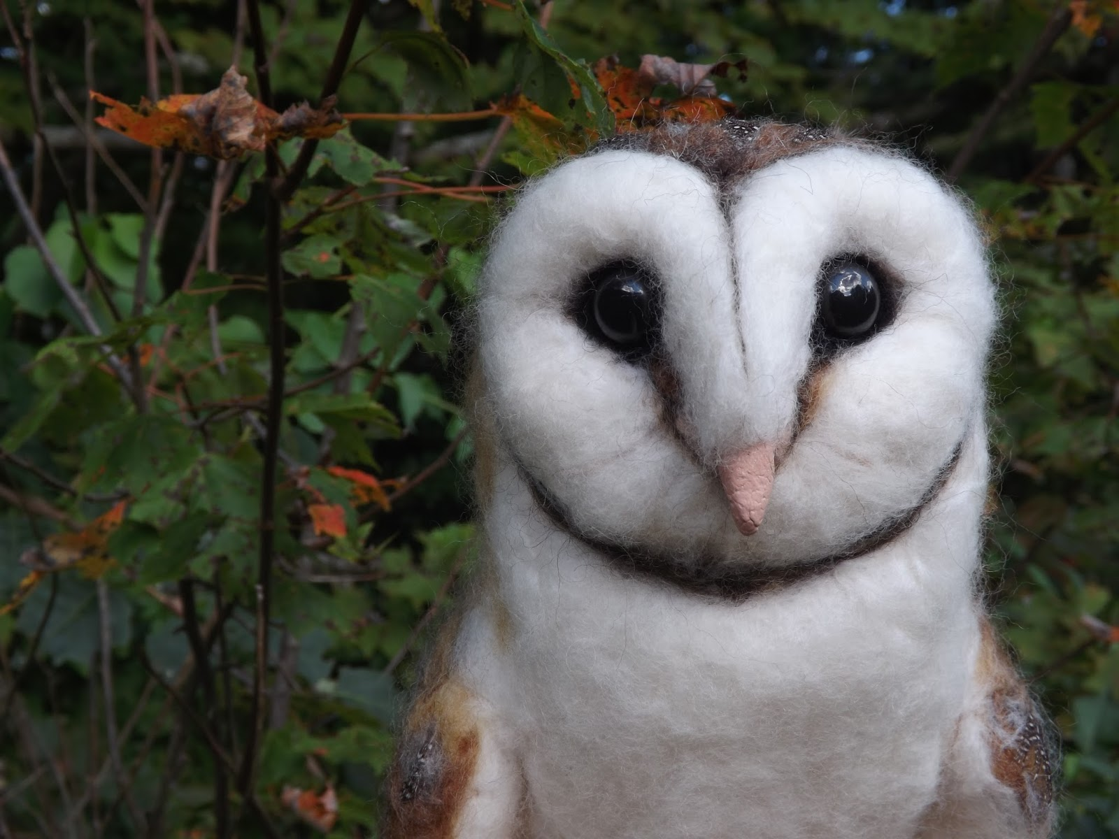 Another Life-sized Barn Owl