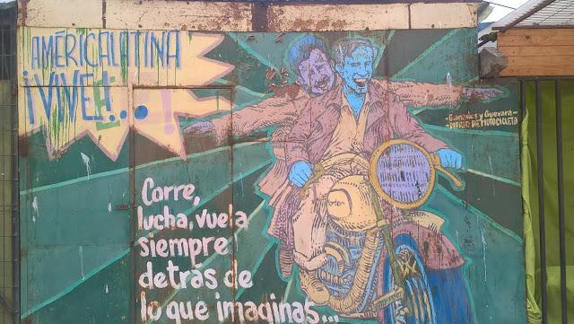 Murale a Caldera