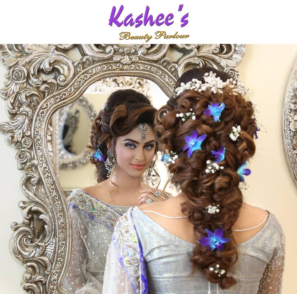 Wedding Makeup Hair Style: Kashee's Sensational Bridal Hairstyling & Makeup By Kashif