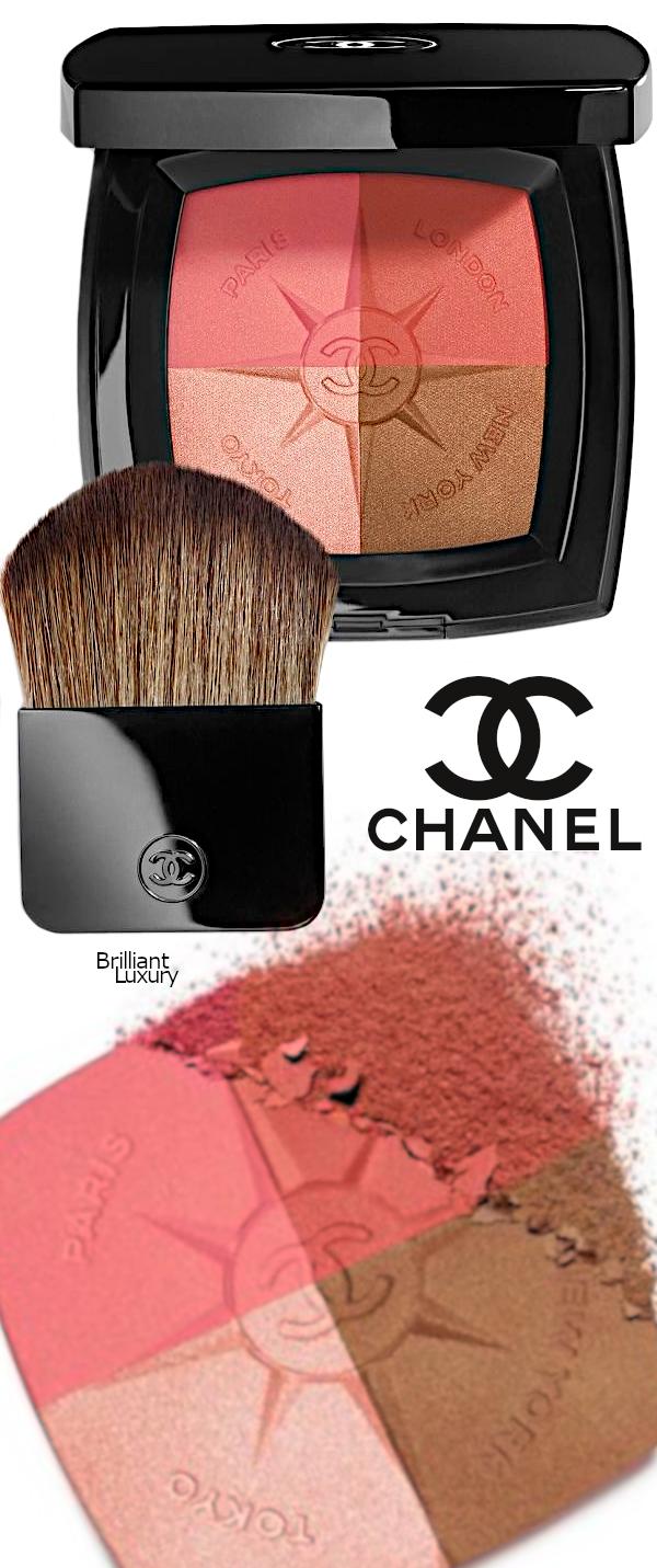 Brilliant Luxury♦Voyage De Chanel Limited Edition Travel Face Palette