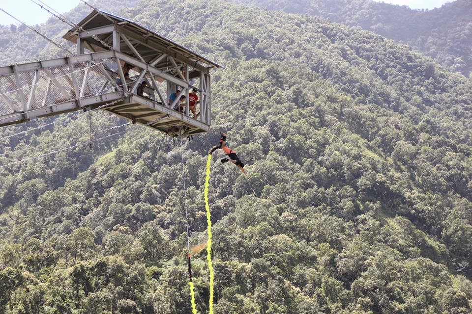 Peace Lisus: Bungy jumping in Hemja,Nepal (MY HOME TOWN)