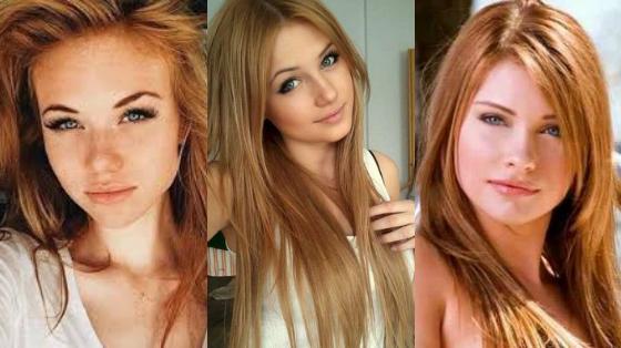 loiro morango cabelo