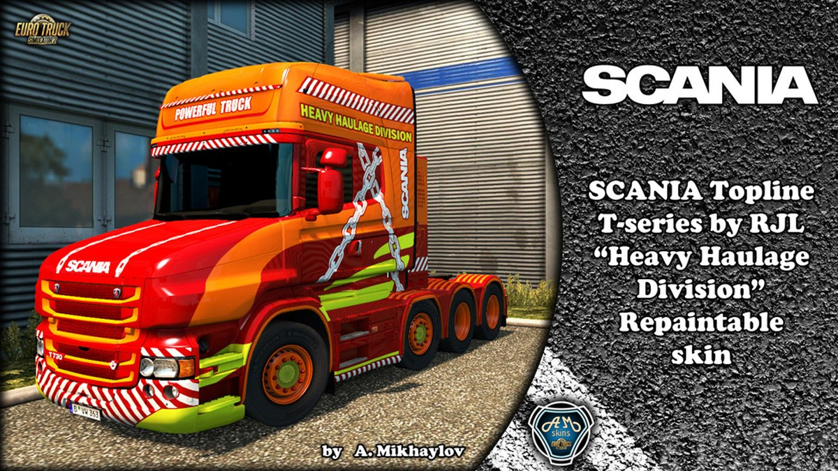TS Scania Heavy Haulage Division for Scania T