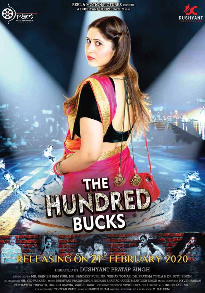 The Hundred Bucks 2020 Hindi Movie Pre-DVDRip 700MB