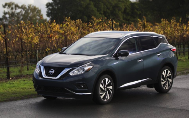 2016 Nissan Murano Car And Driver