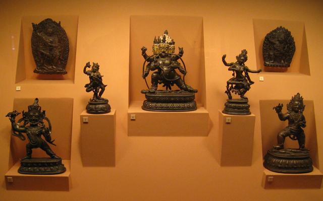 Algunas piezas del Museo de Patan