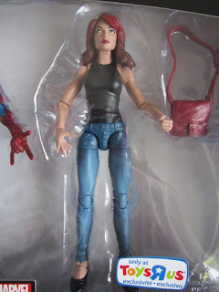 Marvel Legends TRU Toys R Us Exclusive Spiderman Peter Parker Mary Jane Watson 2 pack box set Homecoming MCU movie comic Avengers