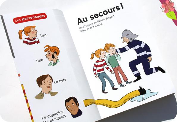 Au secours ! de Benoît Broyart et Clotka - Docs Benjamin - éditions Milan