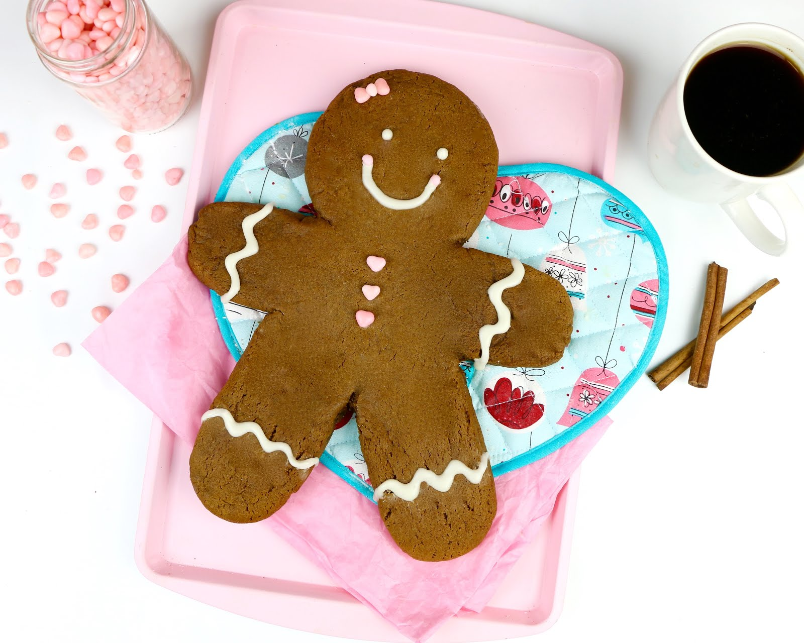Video Giant Gingerbread Man Cookie The Lindsay Ann