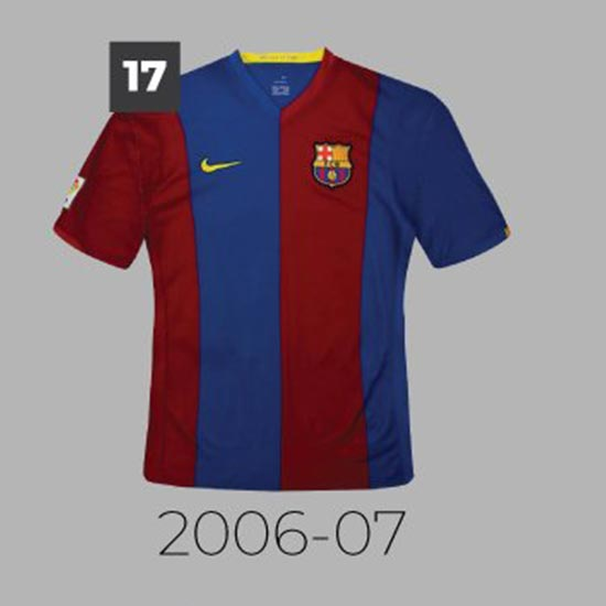 best service e5e7f 0620a 20 Years With Nike - Which Is The Best? Barça Home Kit ...